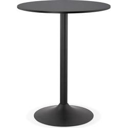 Kokoon Tapeo bartafel 90x90x110 cm - zwart