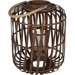 Capsule lantaarn bamboo klein
