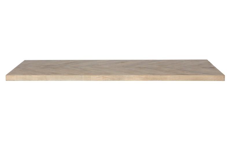 Tablo Tafelblad Mango Visgraat 200x90