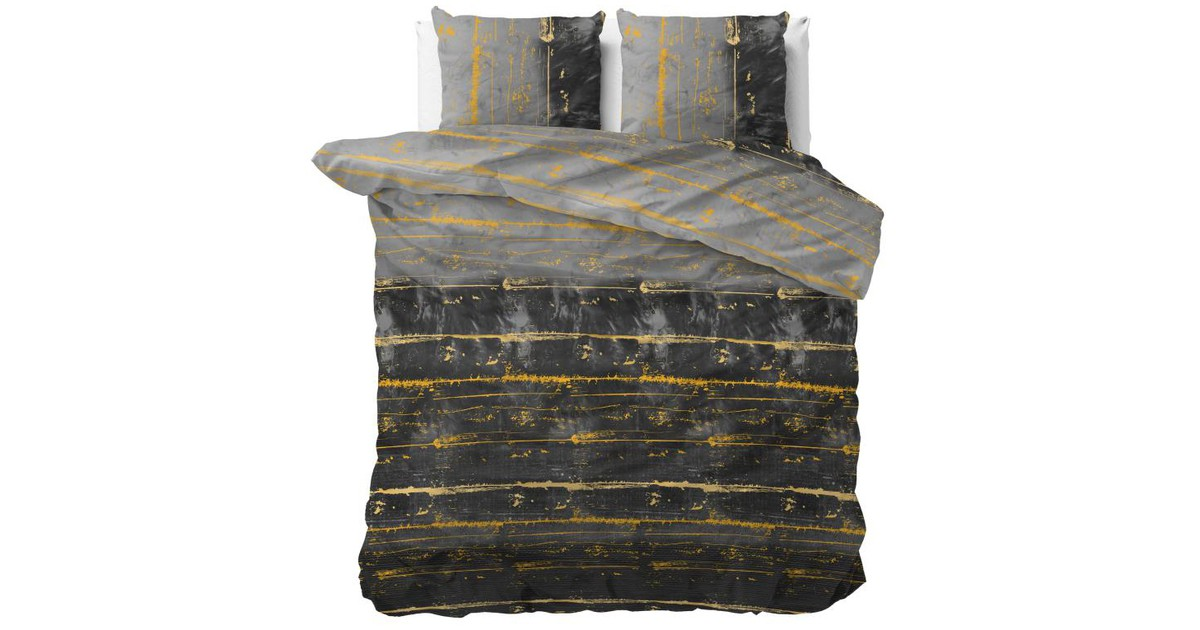 Sleeptime Dekbedovertrek Scratcy Anthracite-200x200/220