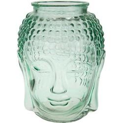 Cozy Ibiza - Buddha hoofd vaas van glas