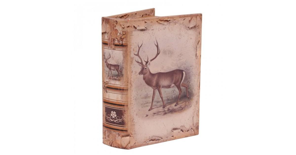 Baroque Collectie Boek doos 20 cm Hert