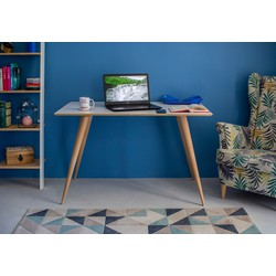 PLANET rectangular eettafel blauw