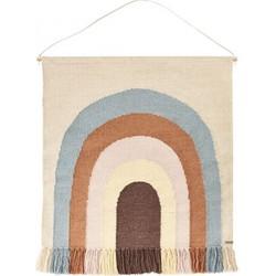 OYOY - Wandkleed follow the rainbow rug - 115x100cm