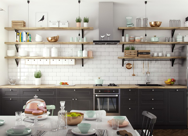 6 dingen die wij kunnen leren van een Scandinavische keuken