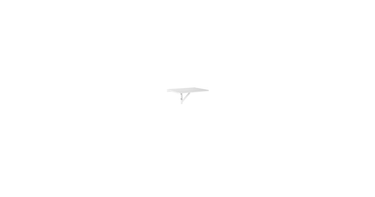 Simpletrade Wandtafel - Bureau - Inklapbaar - Wandmontage - 75x60 cm