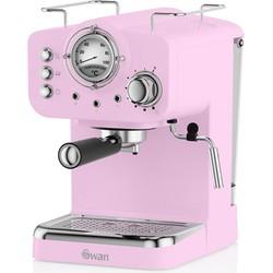 Swan Retro Espressomachine Roze