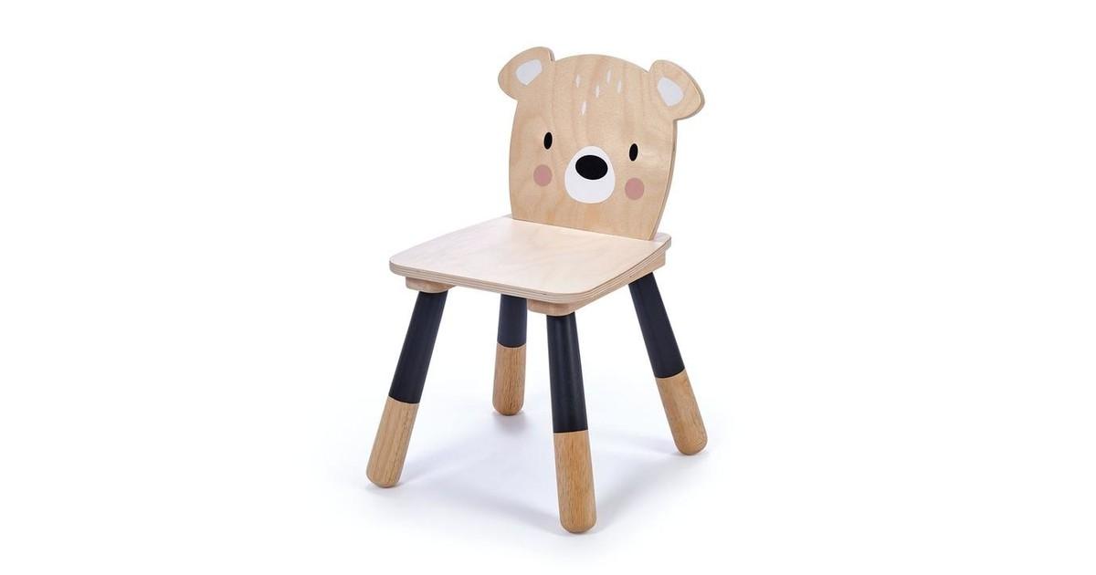 Tender Leaf Toys Houten Kinderstoel Beer | Forest Bear Chair