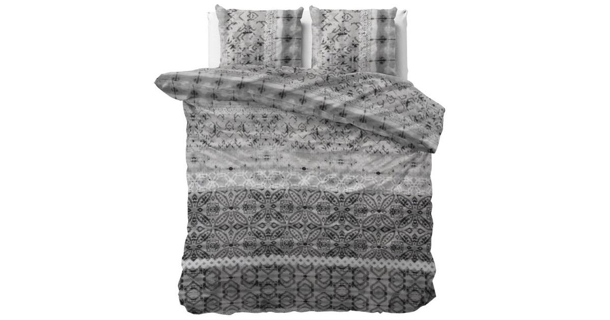 Sleeptime Dekbedovertrek Retro Vivien Grey-200x200/220