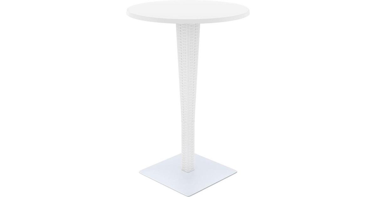 Bar tafel - Buiten - Rond - Wit