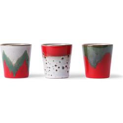 HKliving ceramic 70's mokken kerst editie
