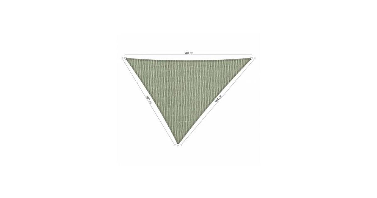 Shadow Comfort driehoek 4x4,5x5m Moonstone green