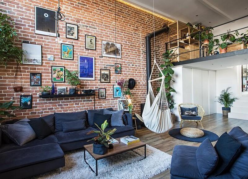 Shop the look: industriële woonkamer met gallery wall