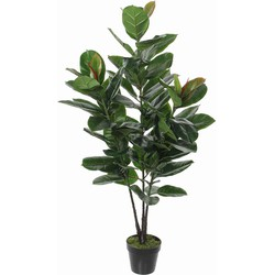 Mica Decorations rubberplant in pot maat in cm: 130 x 50
