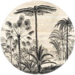 wanddecoratie morita forest s bamboo 90 x 90 x 2