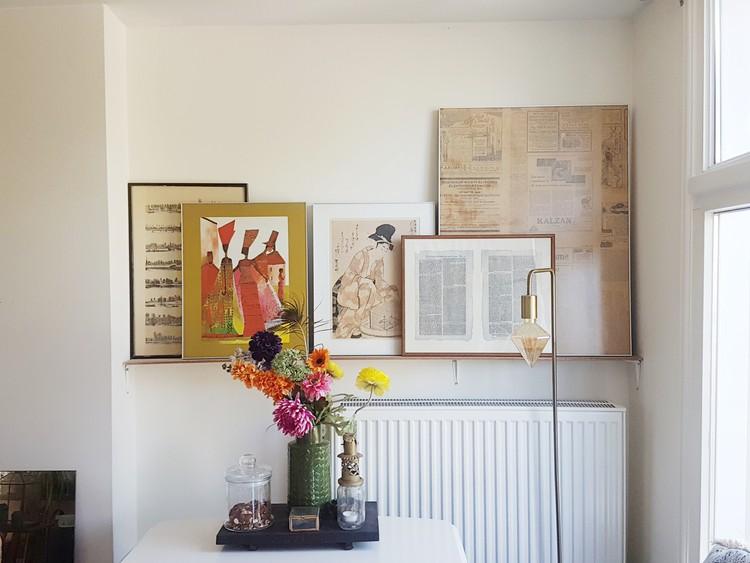 meet the team interieur gallery wall