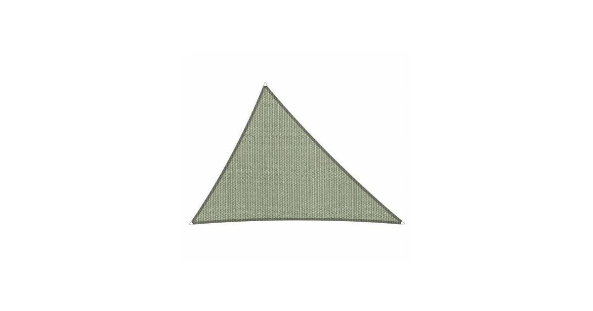Shadow Comfort driehoek 4x5x5,4m Moonstone Green