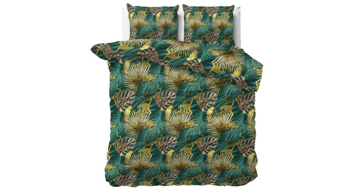 Sleeptime Dekbedovertrek Golden Botanical Green-240x200/220