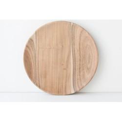 Plate Acacia Wood - Ø23 cm