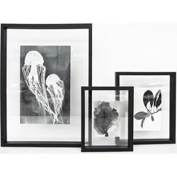 Photo frame floating - Big black