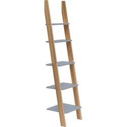 ASHME Ladder Wandrek 45x180cm Donker Grijs