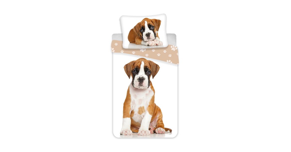 Dekbedovertrek Boxer Puppy Hond