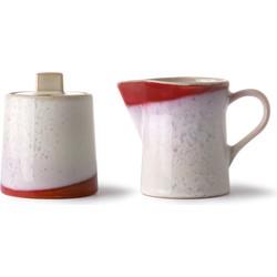 HKliving melkkan en suikerpot frost seventies stijl