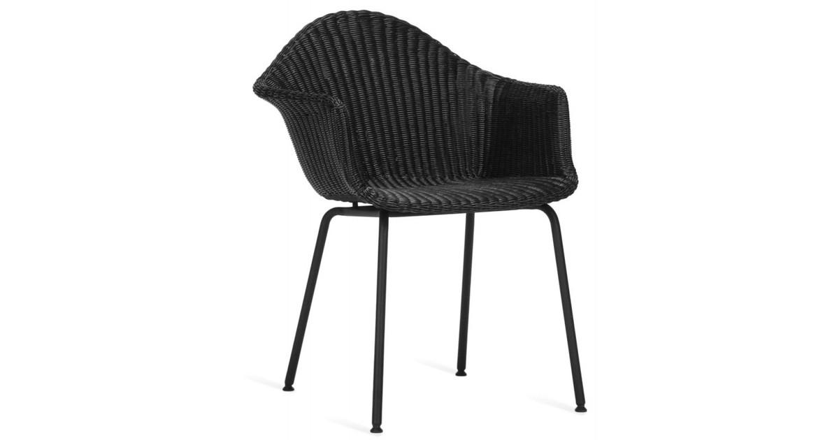 Vincent Sheppard Finn Dining Chair - Wicker Tuinstoel - Zwart