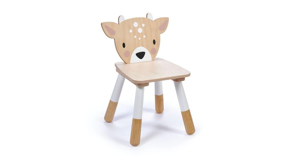 Tender Leaf Toys Houten Kinderstoel Hert | Forest Deer Chair