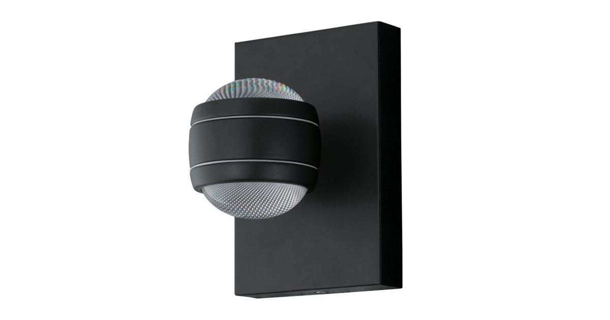 Eglo Sesimba Buitenverlichting LED Wandlamp 2 Lichts Zwart online kopen