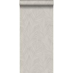 Origin behang palmbladeren taupe