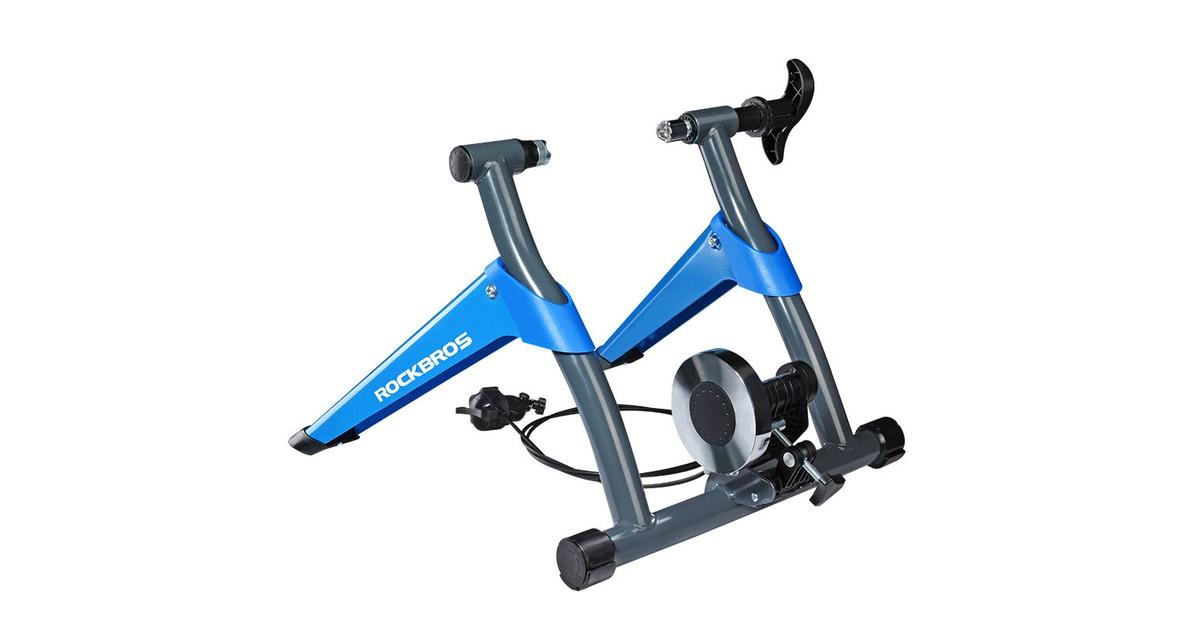 Decopatent® Fietstrainer - Rollenbank fiets 26-28 Inch of 700C wielen - Hometrainer - Racefiets - Mo