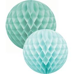 Delight Department Honeycomb groen / blauw XL set van 2