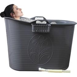 Zitbad Voor Volwassenen - Bath Bucket - Zilver - 200L