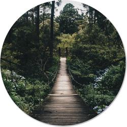 Muurcirkel klein brug - Ø 30 cm