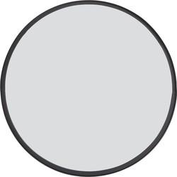 Spiegel Bita - Zwart - Ø60 cm