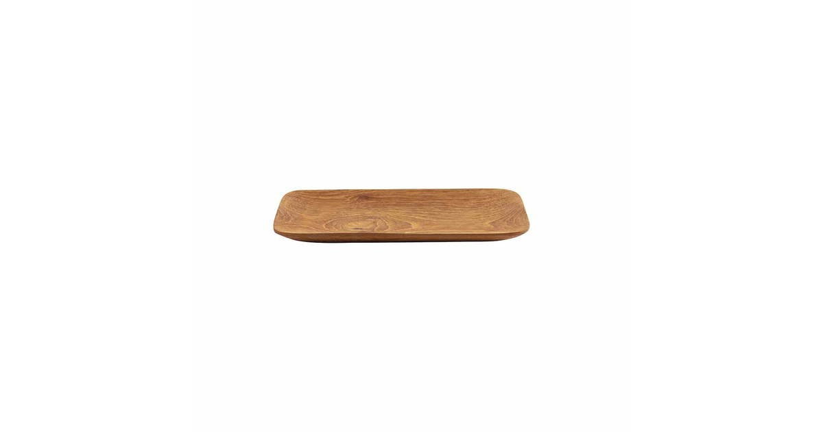 Original Home Teak Root Tray Organic - S