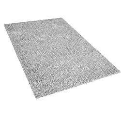 Vloerkleed grijs gemêleerd 140 x 200 cm DEMRE